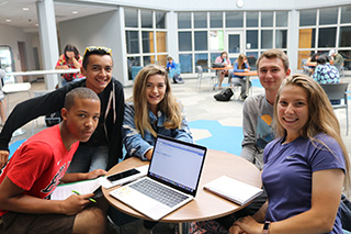 Photo of students at Grayslake Campus
