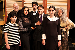Cast of Addams Family comedy