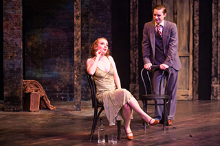 "Photo of scene from ""Cabaret"" musical"