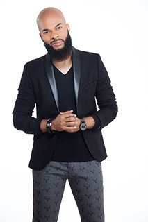 Photo of gospel choir leader JJ Hairston