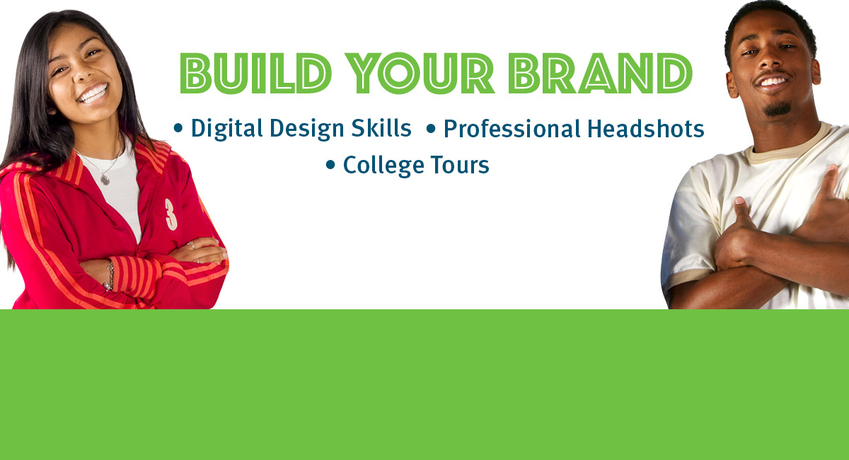 Build Your Brand with Digital Design Skills, Professional Headshots and College Tours