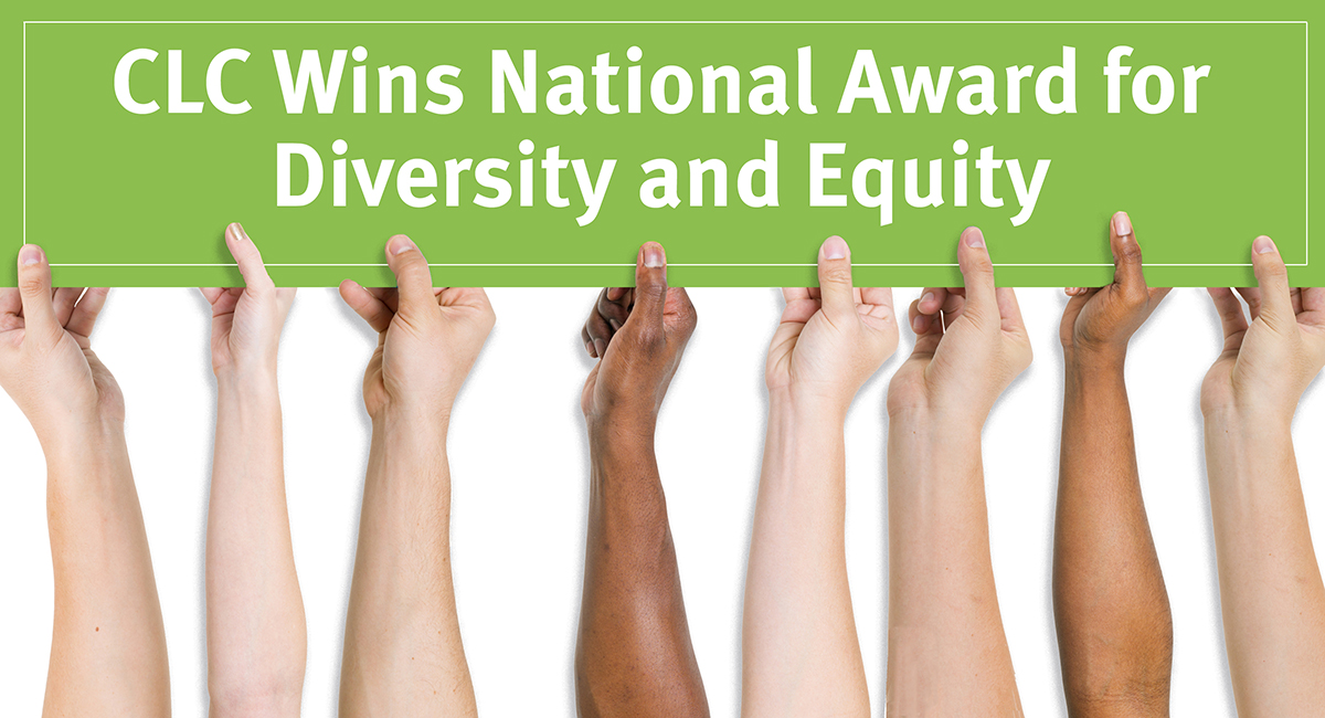 CLC Wins National Award for Diversity and Equity