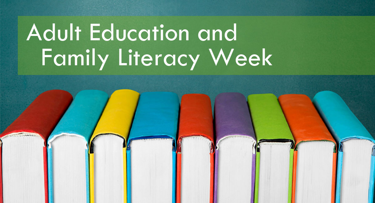 Adult Education and Family Literacy Week   books