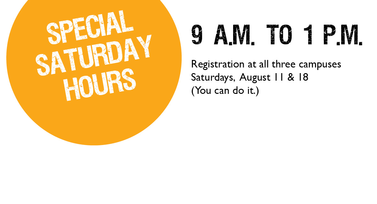 Want help registering for fall?