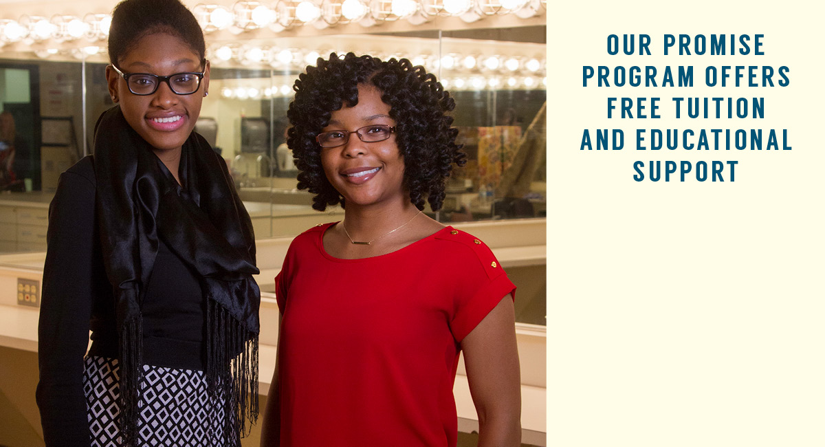Our Promise Program Offers Free Tuition and Educational Support