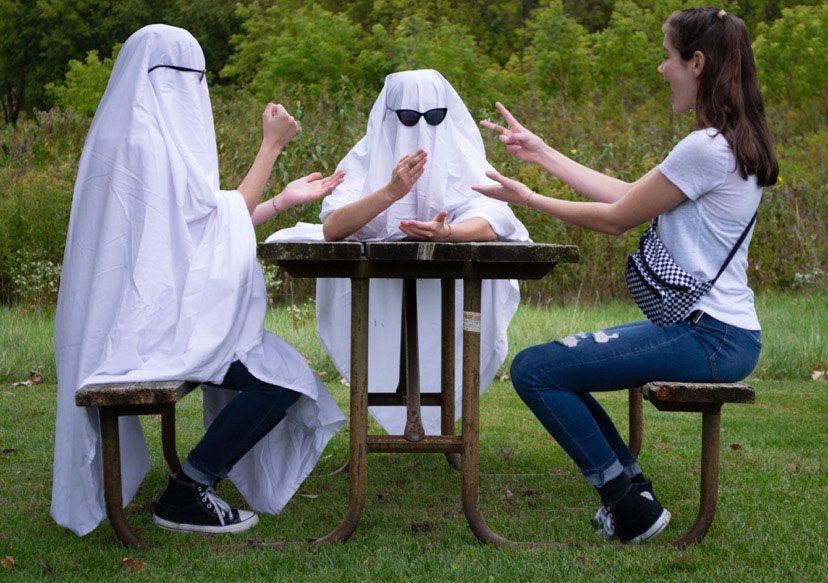 Picnic Ghosts by Allison Bizosky