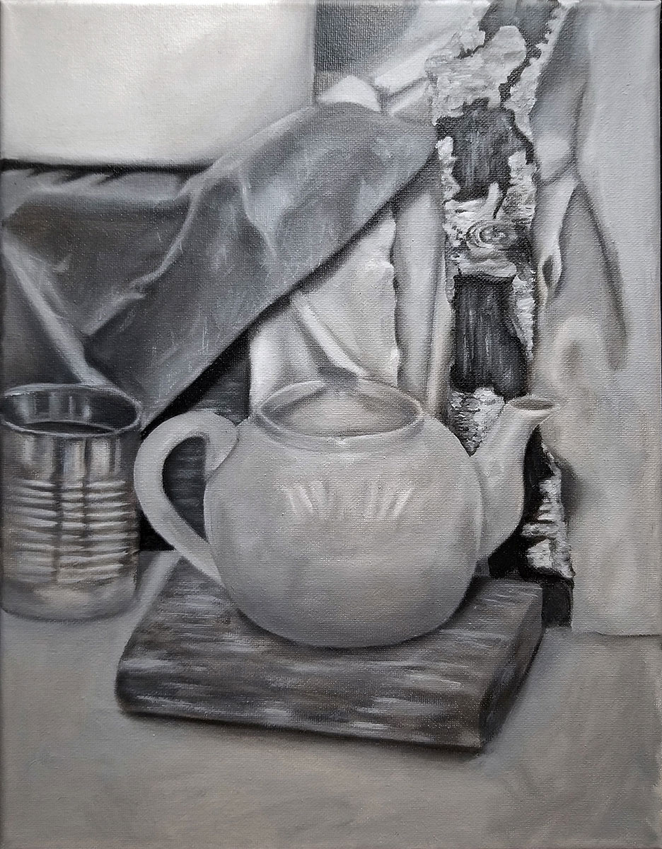 Black and White Still Life by Stephanie Luc