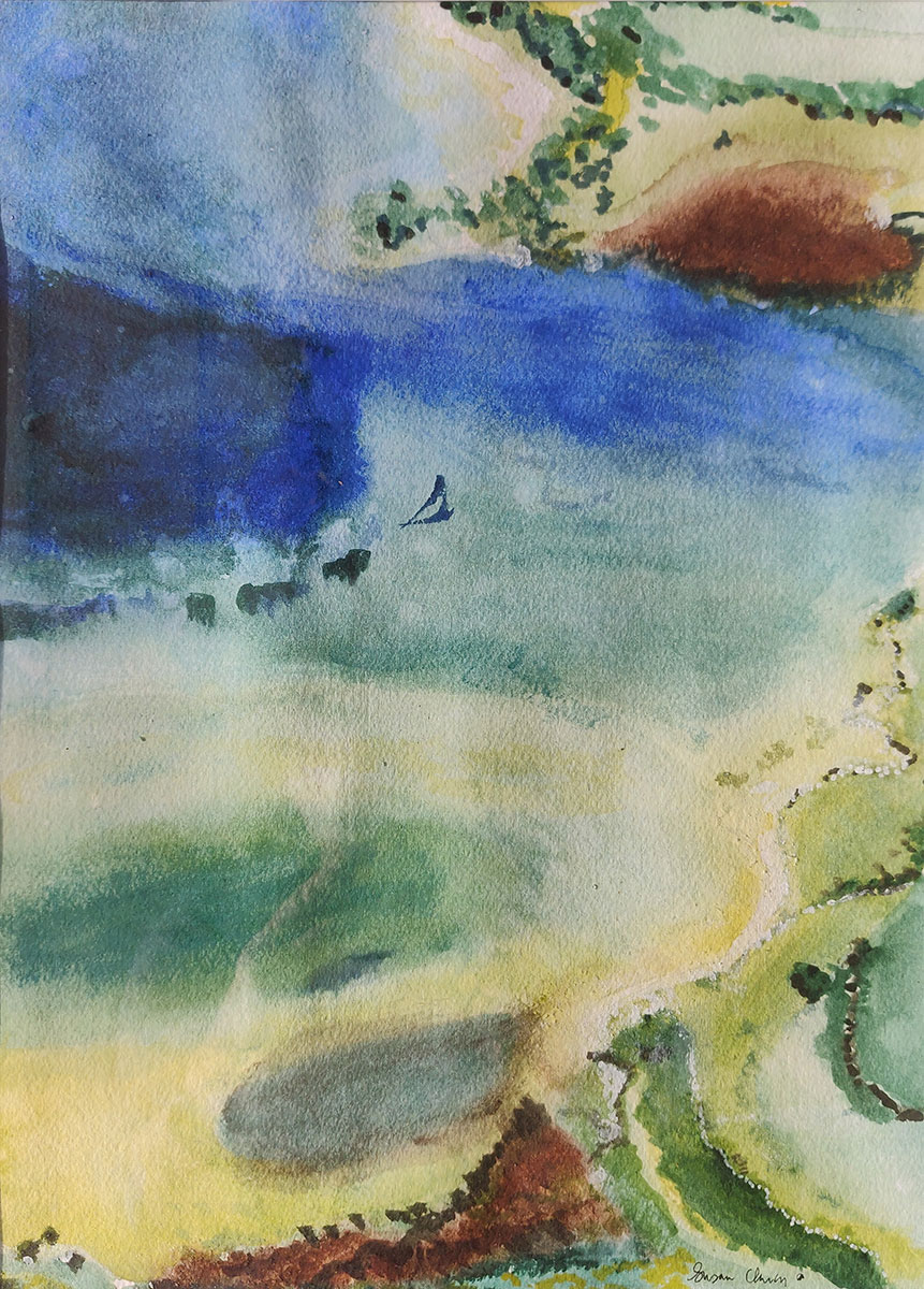 Sea from the Air by Susan Clancy-Kelly
