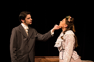 Photo of characters from A Doll's House theatre production