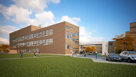 New Science Building rendering