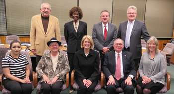 CLC Board with State Comptroller Leslie Munger