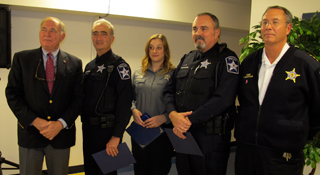 CLC Police staff honored