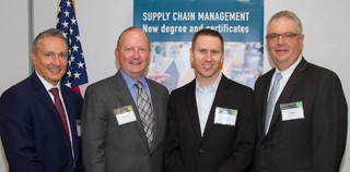 Speakers at Supply Chain Management launch event