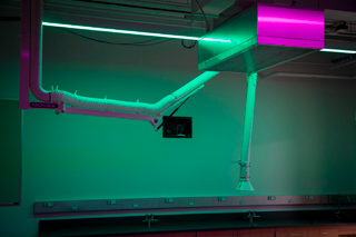 Laser and photonics lab in new Science building