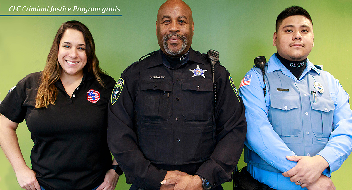 The Criminal Justice ICAPS Program featuring free tuition and books, support classes, scholarships and more. Classes start January 26.
